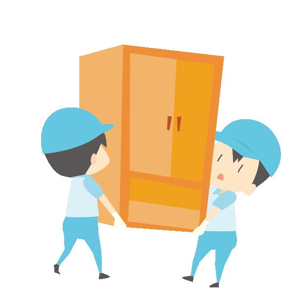 「家具の運搬」の画像検索結果