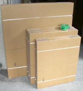 引っ越しの見積もりで置いていく荷造り用のダンボール